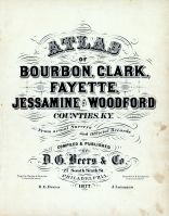 Title Page, Bourbon County 1877